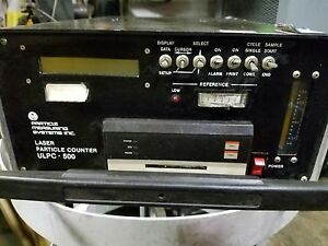 Particle Measuring System Model Ilocanos 500 Laser Particle Counter