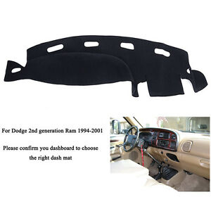 Us Dashmat For 1998 2001 Dodge Ram 1500 2500 3500 Dashboard Cover Dash Mat Fly5d