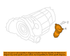 Audi Oem 12 17 A6 Automatic Transaxle Filter 0aw301516h
