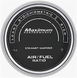 Stewart Warner Maximum Performance Series Air fuel Ratio Analog Gauge 114900
