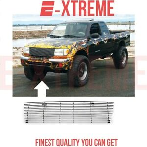 Billet Grille Grill For Toyota Tacoma 1998 1999 2000 Upper Cut Out Style 1pc