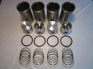 Case C Cc D Dc Di Tractor A7493 4865aa Sleeve Piston Engine Kit