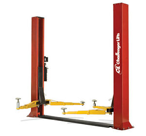 Challenger Lifts 2 Post Low Ceiling Vehicle Lift 9000 Lb Capacity Clfp9