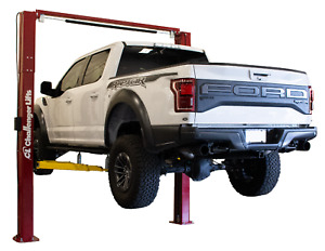 Challenger Lifts 2 Post Surface Lift W 3 Stage Front Arms 10000 Lb Cap Le10