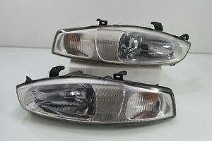 Jdm Mitsubishi Mirage Cybrog Mivec Cj2a Cj4a Headlights Head Lights Lamps Oem