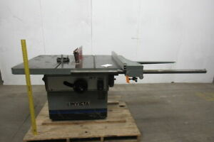 Invicta Rt40 Table Saw 230 460 3ph 7 5hp 14 16 59 x43 Table W fence