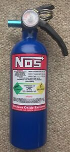 Hot Rod Nitrous Oxide Bottle Look Car Boat Rv Fire Extinguisher Rat Truck New