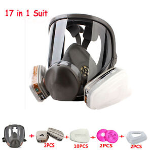 Original Chemical Paint Spraying Gas Mask For 3m 6800 Full Facepiece Respirator
