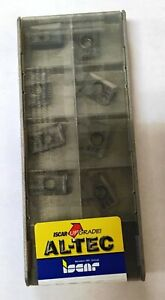 Iscar 3m Axkt 1304pdr Ic910 Carbide Inserts 10 Pcs New Lathe Mill Factory Pack
