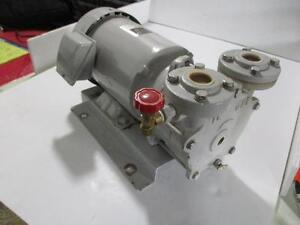 Kashiyama Lem 40ma Liquid Ring Vacuum Pump W Fuji Excellent Power Mlh6096v