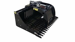 48 Skid Steer Single Grapple High Quality Compact Tractor Free Shipping