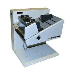 Rena Tl 100 Dual Purpose Labeler Tabber R 325 5 004 02 120 Vac Sold As Is