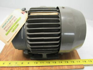 Toshiba B0014flf2ak 1hp 3ph 230 460v 1735rpm Electric Motor