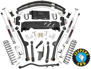 Jeep Xj Cherokee 6 5 Long Arm Suspension Lift Kit 84 01 Xj 67222 61822