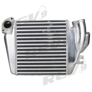 Rev9 Top Mount Turbo Intercooler Kit For 08 14 Wrx Legacy Forester Xt Ej25