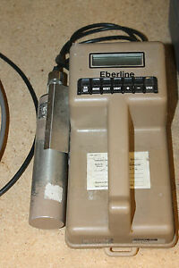 Eberline Esp 1 Portable Scaler Ratemeter Geiger Counter With Probe