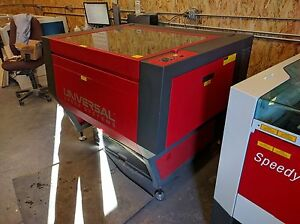 Universal Laser Engraver Ils9 75 135 Watts manufactured Feb 2014