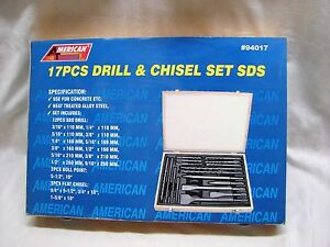 American Tool Exchange 17pc Drill Chisel Set Sds