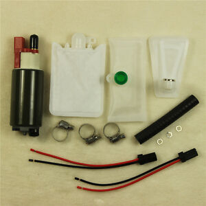 Universal High Performance Electric Intank Fuel Pump With Installation Kit E2157
