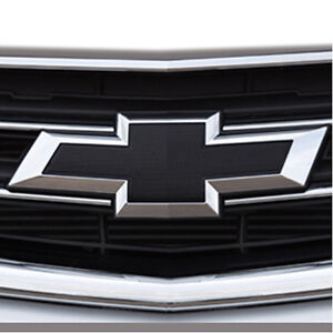 2014 2018 Chevrolet Impala Genuine Gm Front Rear Black Bowtie Emblems 23287538