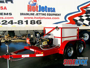 Sewer Jetter Tandem Axle Cold Water
