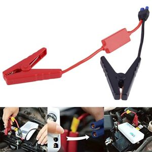 For Car Trucks Jump Starter Emergency Lead Cable Battery Alligator Clamp Clip Xs