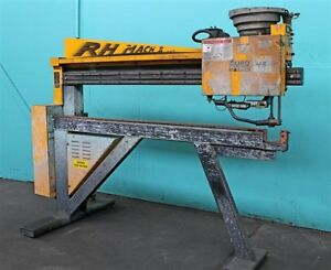 Duro Dyne Rh Mach Ii Rolling Head Automatic Pinspotter As is