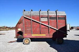 Gehl Bros Mfg Forage Silage Wagon