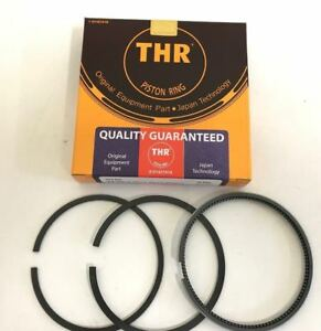New Thr Piston Ring Full Chrome For Bobcat 331 For Kubota Engine V2203 Std