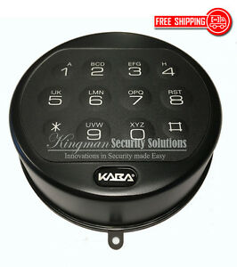 Lagard Basic Ii Keypad 4715bk Replacement For 3715 3000 Flat Black Nib