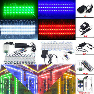 US 10FT~100FT 5050 3 LED Module Store Front Window Light Sign Makeup Mirror Lamp
