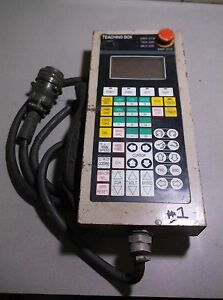 Teaching Box Emergency Stop Switch Operator Panel Weld Err free Shipping