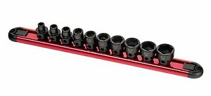 Sunex 10pc Sae 3 8 Dr Low Profile Stubby Impact Socket Set W Hex Base 3363