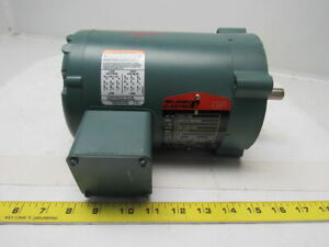 Reliance Electric P56h1338 1 2 Hp 3ph 208 230 460v 1725rpm Electric Motor