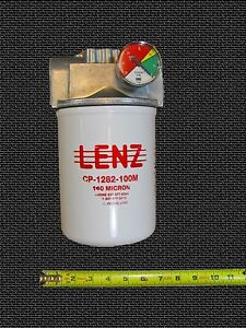 Waste Oil Heater Parts Hydraulic Fuel Oil Filter Assembly Lenz Cp 1282 100m