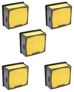5 Air Filters For Husqvarna 525 47 06 02 525470602 605 618 14260 43963 Saw