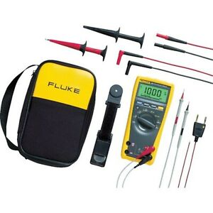 Brand New Fluke 179 eda2 6 Piece Industrial Electronics Multimeter Combo Kit
