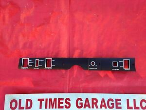 Mint Oe Mopar Dash Switch Panel 1968 69 Road Runner Gtx Coronet B Body W Fader