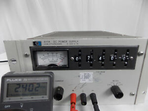 Hp Agilent 6111a Dc Power Supply 0 20v 0 1a W Calibrated Sticker