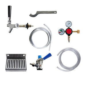 Kegerator Refrigerator Conversion Kit Universal Ball Lock To Sankey d Keg