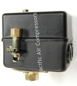 Heavy Duty Replacement Pressure Switch For Two Stage Compressors 145 175