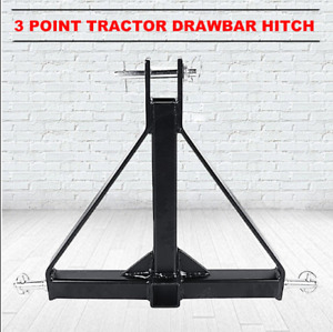 3 Point Trailer Hitch Attachment 1 Tractor Tow Hitch Drawbar Adapter 2 Receiver