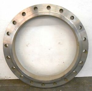 Slip On 24 Pipe Stainless Steel Flange 24 150 B16 5 Sa182 Class 150 32 00 Od
