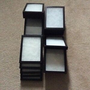 4 6 X 8 X 2 Extra Thick Plus 10 6 X 8 X 3 4 Display Cases riker Type