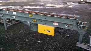Hytrol Powered Roller Conveyor