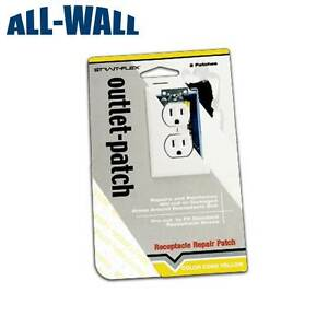 Strait flex Drywall Repair Patch For Electrical Outlets receptacles 20 Pack