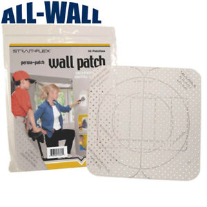 10 Pack Strait flex Drywall Repair Patches Outlets Switch Boxes Pre marked