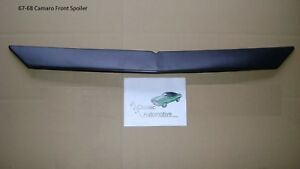 3 Day Sale Front Spoiler 67 68 Camaro Firebird Air Dam Chin Baffle Rs Ss Z28