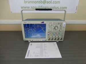Tektronix Mso5204 4 Ch 2 Ghz 10 Gs s Mixed Signal Oscilloscope Calibrated