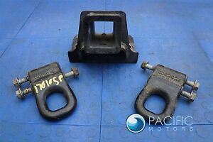 Tow Hooks Front Trailer Hitch Winch Receiver 15059237 15062628 Hummer H2 03 09